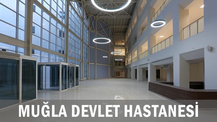 Muğla Devlet Hastanesi İç Mekan Tasarımı