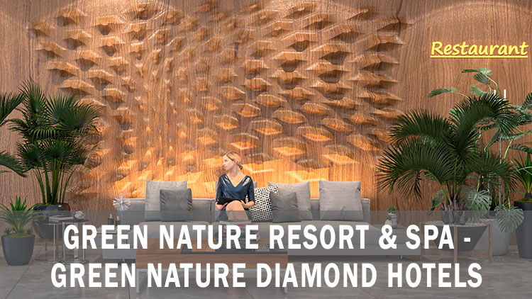 Green Nature Resort & Spa - Green Nature Daimond Hotels Konsept İç Mekan Tasarımları / Marmaris