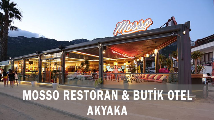 Mosso Restoran & Butik Otel - Akyaka